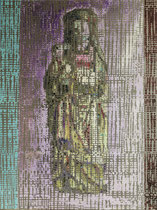"""""""Madonna"""" - Öl auf Aluminium - 60 x 80cm"""