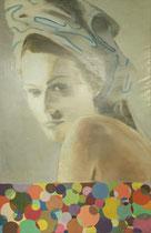"""""""The Look"""" - Öl auf Leinwand - 130 x 200 cm"""