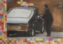"""""""friday afternoon"""" - Pastellkreide auf Papier - 70 x 50 cm"""