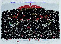 上原利丸 110×145cm 『春の予感』