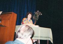 Lesung im Rampenlichttheater 1993 - Literaturgemeinschaft DER KREIS