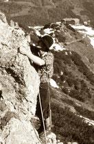 HOFPÜRGLHÜTTE Klettern Gosaukamm