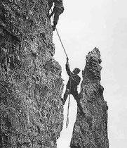 HOFPÜRGLHÜTTE Klettern früher