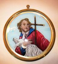 hl. Johannes der Täufer - Auftrag
