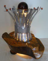 Tisch/Bodenleuchte Flora Tuba della Stufa