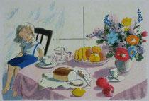 A1-25   春の食卓