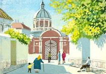 C1-07   サンクトペテルベルグの修道院