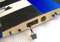 "RC-Verbindung Tragfläche (Emcotec PowerWing Connector 3) ""Montiert"""