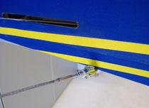 Detail Untere-Verspannung Höhenleitwerk