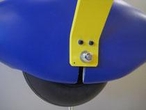 Detail Radschuhe/Achsen/Räder