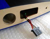 """Detail Emcotec PowerWing Connector 3 """"Tragflächenseite"""""""