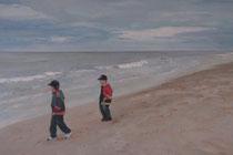"""Nordsee (Wangerooge)"",  Acryl auf Leinwand, 50x70cm, 350€"
