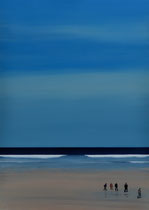 100x140, PORTHMEOR BEACH, VERKAUFT
