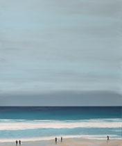 100X120, PORTHMEOR BEACH, SOLD