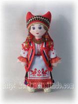 Ефросиния. Русский женский костюм Рязанской губернии 17-19 вв.