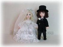 Жених и невеста, 21 см.