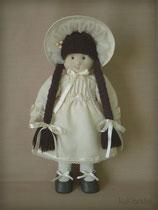 Кэтти, коллекционная авторская кукла из натуральных материалов.