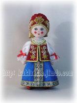 Кукла в женском костюме Архангельской губернии 17-19 вв.