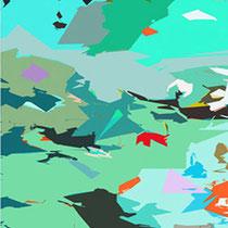 Per le antiche valli, cm.50x70,2010, particolare