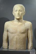 männliches Halbbild, Pappel, Höhe: 80 cm