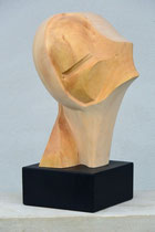 stilisierter Kopf, Linde, Höhe: 43 cm