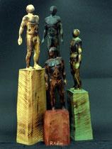 Figurengruppe, Zirbe, Figurenhöhe: 30 cm