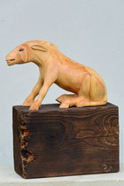 Esel, Linde/Fichte, Höhe: 45 cm