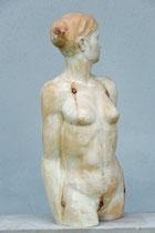 weiblicher Akt, Zirbe, Höhe: 64 cm