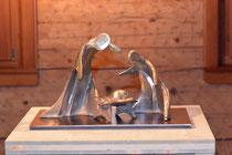 Peter Gastl, Heilige Familie, Bronze