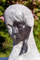 Stille, Irischer Blaustein, Höhe: 40 cm