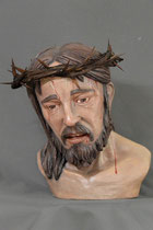 Christus, Terracotta, Ölfassung, lebensgroß