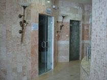 Douches et vestiaires