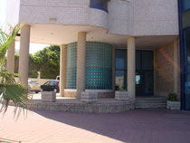 Entrée de l'hôtel Ashdod Beach