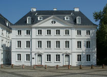 Das Saarbrücker Schloss in Alt - Saarbrücken