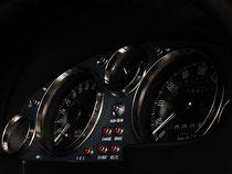EUNOS ロードスター NA用 ビンテージメーターパネル (ネイビー) TYPE-02