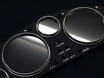 EUNOS ロードスター NA用 ビンテージメーターパネル (ブラック) TYPE-04