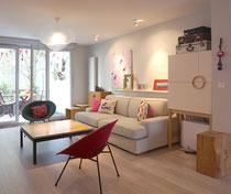salon; IKEA; Besta; Pax; vintage; claude vassal; fauteuil; Lyon; Quebec; buche; petit pan