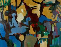Die Fülle des Lebens - Öl auf Leinwand - 100 x 130 cm
