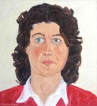 Julia 2005, 70 x 65 cm, Öl auf Leinwand