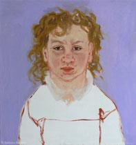 Anna 1994, 65 x 65 cm, Öl auf Leinwand