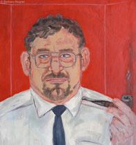 Walter Annuß 1991, 100 x 75 cm, Öl auf Leinwand, Ausschnitt