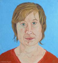 Susanne 2005, 70 x 65 cm, Öl auf Leinwand