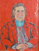 Winfried Tonner 1989, 110 x 80 cm, Öl auf Leinwand,