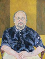 Prof. Ludwig Scharl 1990, 110 x 90 cm, Öl auf Leinwand,