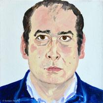 Michel Kastlunger 2000, 60 x 60 cm, Öl auf Leinwand