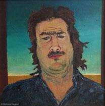Reiner S. 1988, 65 x 65 cm, Öl auf Leinwand