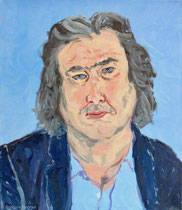 Reiner S. 1999, 75 x 65 cm, Öl auf Leinwand