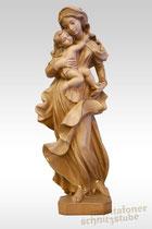 Maria Mutter Gottes mit Kind, gebeizt