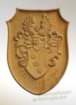Wappenschild, Pfefferkorn, natur