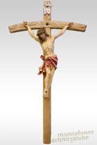 Alpenländischer Christus, lasiert